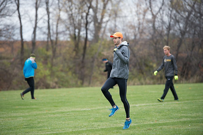 2017 - Macalester Men Cross Country run at MIAC Conference Championship at Saint Olaf   -- Copyright Christopher Mitchell / SportShotPhoto.com