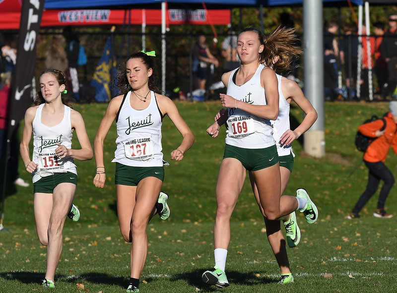 Cross Country: Metro League District Meet