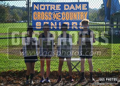 2021 Notre Dame XC Senior Night