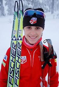 Morgan Aritola U.S. Cross Country Ski Team Photo: Pete Vordenberg