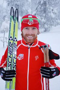 Andy Newell U.S. Cross Country Ski Team Photo: Pete Vordenberg