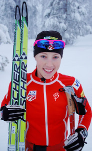 Kikkan Randall U.S. Cross Country Ski Team Photo: Pete Vordenberg