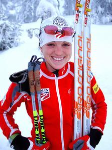 Liz Stephen U.S. Cross Country Ski Team Photo: Pete Vordenberg