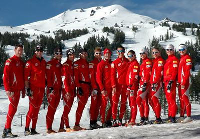 2009-10 U.S. Cross Country Ski Team Photo: Pete Vordenberg