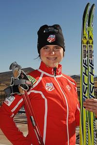 Lindsay Williams U.S. Cross Country Ski Team Photo © Scott Sine