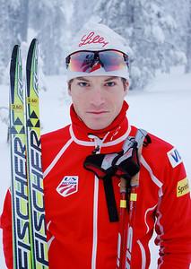 Kris Freeman U.S. Cross Country Ski Team Photo: Pete Vordenberg