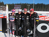 (l-r) Jessie Diggins, Liz Stephen, Ida Sargent, Holly Brooks<br /> 2012 FIS Cross Country World Cup in Nove Mesto, Czech Republic<br /> Photo: Kikkan Randall/U.S. Ski Team