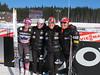 (l-r) Jessie Diggins, Liz Stephen, Ida Sargent, Holly Brooks<br /> 2012 FIS Cross Country World Cup in Nove Mesto, Czech Republic<br /> Photo: Kikkan Randall/U.S. Ski Team
