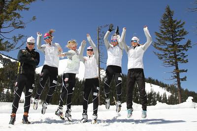 2011-12 U.S. Cross Country Ski Team Photo: Pete Vordenberg/U.S. Ski Team