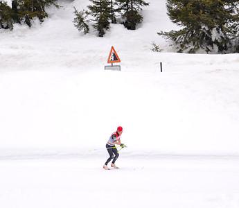 Liz Stephen 2012 FIS Cross Country World Cup finals in Falun, Sweden Photo © Matt Whitcomb/U.S. Ski Team