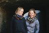 Liz Stephen and Kikkan Randall<br /> Predazzo, Italy<br /> 2013 FIS Nordic World Championships in Val di Fiemme, Italy<br /> Photo: Sarah Brunson/U.S. Ski Team
