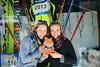 Kikkan Randall and Liz Stephen<br /> Predazzo, Italy<br /> 2013 FIS Nordic World Championships in Val di Fiemme, Italy<br /> Photo: Sarah Brunson/U.S. Ski Team