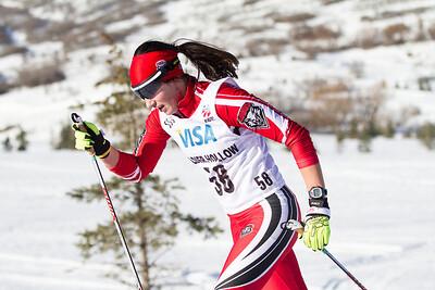 Eva Sevverus 2014 U.S. Cross Country Championships Women's 10K Classic Photo: Sarah Brunson/U.S. Ski Team