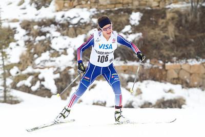 Chelsea Holmes 2014 U.S. Cross Country Championships Women's 20K Free Mass Start Photo: Sarah Brunson/U.S. Ski Team