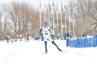 Caitlin Gregg 2014 U.S. Cross Country Championships Women's 20K Free Mass Start Photo: Sarah Brunson/U.S. Ski Team