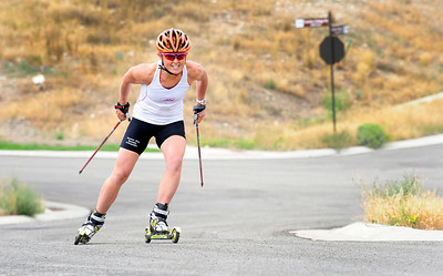 Holly Brooks Charges Uphill