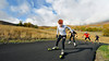 Holly Brooks Roller Ski Training at Soldier Hollow