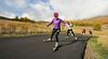 Kikkan Randall Roller Ski Training at Soldier Hollow
