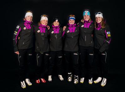 2014-15 U.S. Cross Country Ski Team headshots and team photos