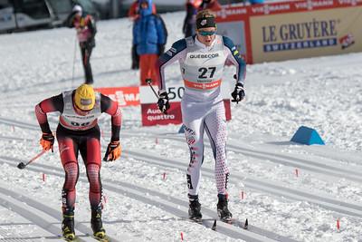 Eric Bjornsen FIS World Cup 20 KM Mass Start Classic in Montreal Tour de Canada Photo © Reese Brown