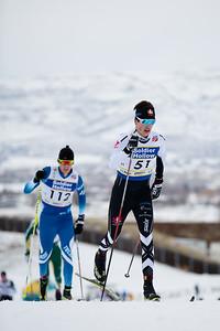 Senior Men - 30km 2017 L.L. Bean U.S. Cross Country Ski Championships at Soldier Hollow Photo: U.S. Ski Team