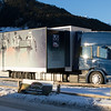 U.S. Ski Team wax truck at the Davos World Cup<br /> Photo © Reese Brown