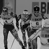 Kikkan Randall and Jessie Diggins <br /> Sprint<br /> FIS Cross Country World Cup - Davos, Switzerland<br /> Photo © Reese Brown