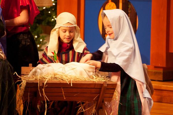 Cross View Younger Children's Christmas Program 2011
