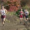 The boys and girls Mid Wach League Cross Country Championships where held at Hollis Hill Farm in Fitchburg Saturday, Oct. 26, 2019. Groton Dunstable Regional High School's #289 Thomas Orcutt. SENTINEL & ENTERPRISE/JOHN LOVE