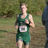 The boys and girls Mid Wach League Cross Country Championships where held at Hollis Hill Farm in Fitchburg Saturday, Oct. 26, 2019. Nashoba Regional High School #380 Dylan Whalen. SENTINEL & ENTERPRISE/JOHN LOVE