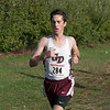 The boys and girls Mid Wach League Cross Country Championships where held at Hollis Hill Farm in Fitchburg Saturday, Oct. 26, 2019. Groton Dunstable Regional High School's #284 Patrick Daly. SENTINEL & ENTERPRISE/JOHN LOVE