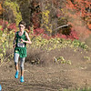 The boys and girls Mid Wach League Cross Country Championships where held at Hollis Hill Farm in Fitchburg Saturday, Oct. 26, 2019. Nashoba Regional High School's #376 Freddy Collins. SENTINEL & ENTERPRISE/JOHN LOVE
