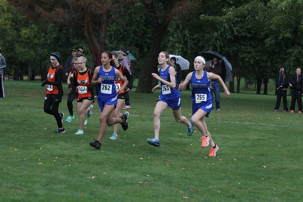 Cross-country at Otter Valley Golf Club 10-6-16