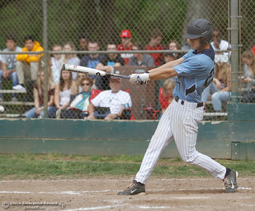 Pleasant Valley's Jaret Flint during a baseball game between Pleasant Valley and Chico High School Tuesday April 12, 2016 at Hooker Oak Park in Chico, Calif. (Emily Bertolino -- Enterprise-Record)