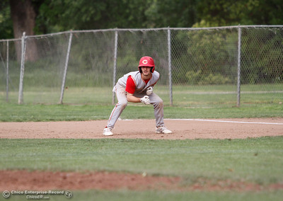 Chico High's Ty Brogden during a baseball game between Pleasant Valley and Chico High School Tuesday April 12, 2016 at Hooker Oak Park in Chico, Calif. (Emily Bertolino -- Enterprise-Record)