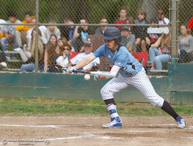 Pleasant Valley's Griff Fenn during a baseball game between Pleasant Valley and Chico High School Tuesday April 12, 2016 at Hooker Oak Park in Chico, Calif. (Emily Bertolino -- Enterprise-Record)