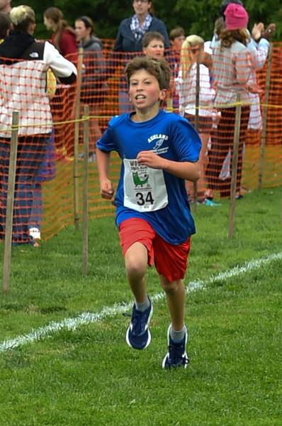 Boys JH Woods Trail Run 2016-10-01
