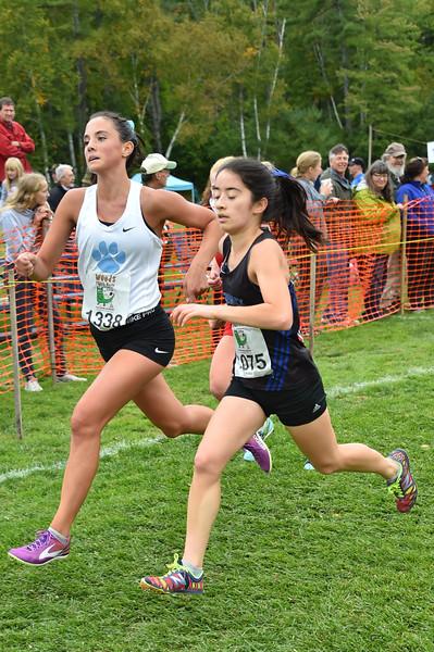 Girls 1 Woods Trail Run 2016-10-01