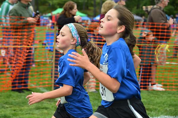Girls JH Woods Trail Run 2016-10-01