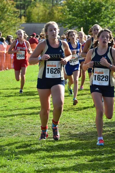 Girls 1 Woods Trail Run 2015-10-03