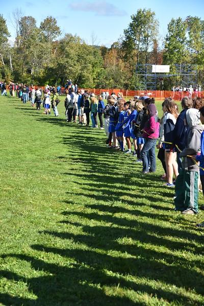 Girls Junior High Woods Trail Run 2015-10-03