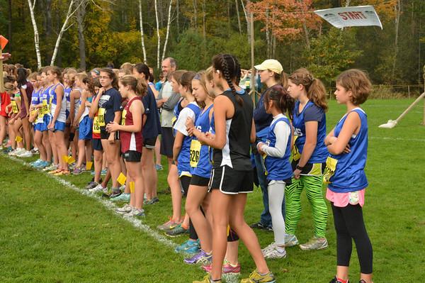 2012-10-06 Woods Trail Run JH Girls