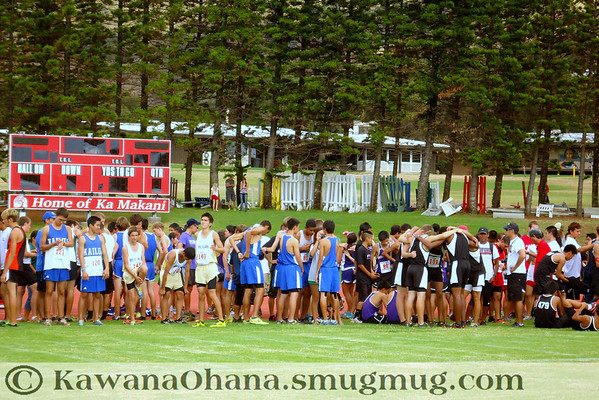 HHSAA Boys State XC Championships 2012