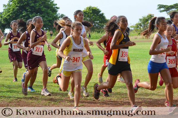 OIA XC 2013 JV Championships Girls