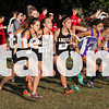 Argyle Eagles compete in cross country at Decatur high school Dectatur High school in Decatur, Texas on Wednesday. (Hudson McCabe / )