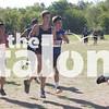 Eagles run in Burleson for Cross Country at Burleson High School in Burleson, Texas, on August 31, 2018. (Georgia Penn / The Talon News)