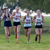 The Argyle Eagles Cross Country team Competes in the Gingerbread Jamboree at Camp Copass in Denton, Texas, on August29, 2019. (Andrew Fritz | The Talon News)