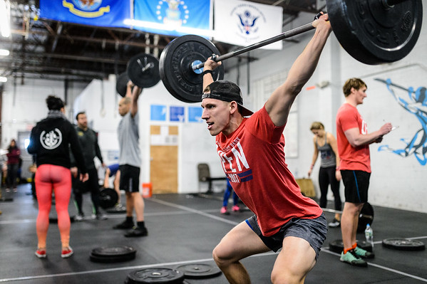 """17.3 at Active Life Athletics CrossFit Island Park  <a href=""""http://www.activelifeathletics.com"""">http://www.activelifeathletics.com</a> - please tag @activelifeathletics and @supercleary if you post online"""