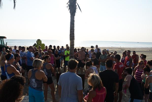 Beach WOD! Chapel Beach Club