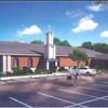 Artist rendition of future CrossPoint Church